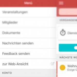 Link zur Webanwendung mit automatischer Anmeldung