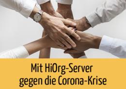 Beitragsbild HiOrg-Server gegen Corona