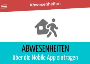 Beitragsbild Abwesenheiten App