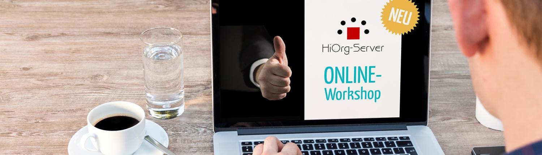 Neu: Online-Workshops für HiOrg-Server