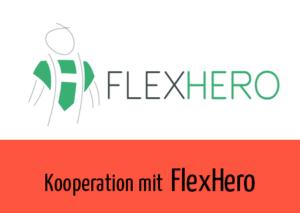 Beitragsbild Kooperation Flexhero