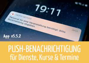 Beitragsbild Push - App v5.5.2
