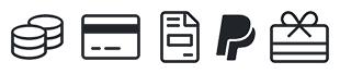 Icons Zahlungsarten